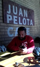 Saurabh at Juan Pelota Cafe.jpg