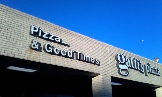I missed the Good Times more than the pizza.