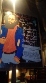 "Alan Ginsberg: ""We all have a story to tell.. Celebrate yours! And don't forget to color outside the lines."""