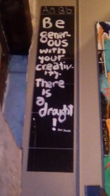 Creativity, yeah!
