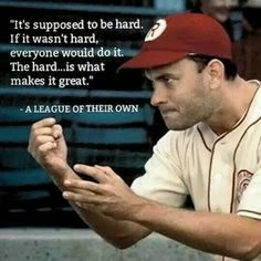 A League of Their Own quote image