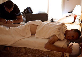 froome massage