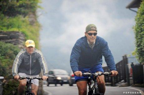 George-Clooney-took-Tate-Donovan-bike-ride-around-Lake-Como