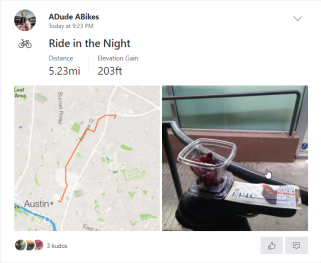 Ride in the Night