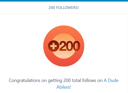 200th Followers