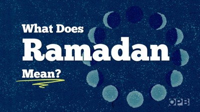 What does Ramadan mean