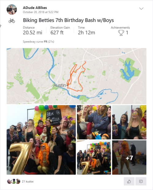 biking beties 102018
