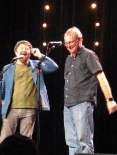 Owen (left), Gareth (right)
