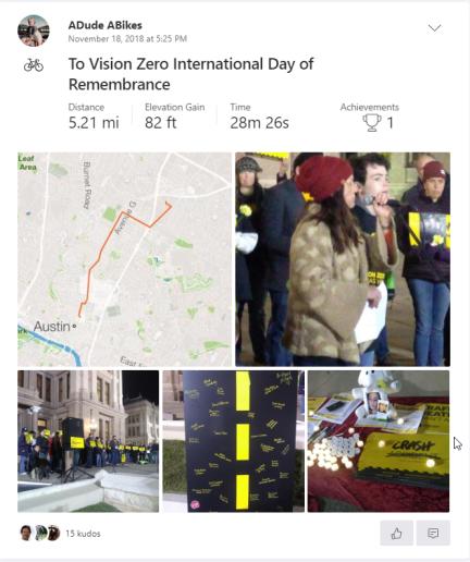 To Vision Zero Vigil 111818