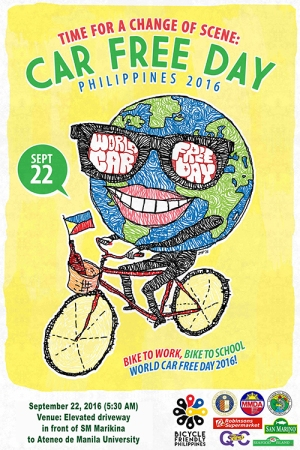 world-car-free-day poster