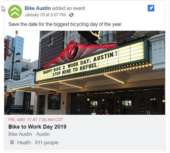 Bike to Work Day 2019 BA FB