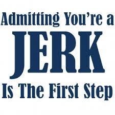 jerk admitting